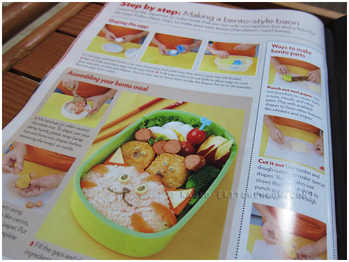 Bento Demonstration on Yummy Magazine