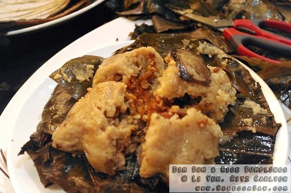 Dim Sum N Rice Dumplings At Li Yen Ritz Carlton-21