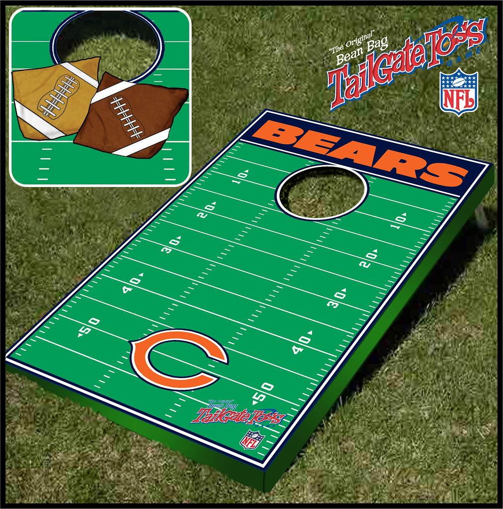 Chicago bears Bean Bag Toss Game