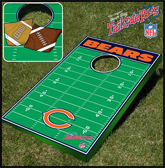 Chicago bears Bean Bag Toss Game