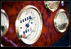 Instrument Panel (Henrik Skupin) Tags: car canon germany de wooden ground oldtimer material karlsruhe tachometer instrumentpanel badenwrttemberg