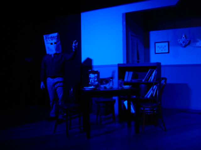 She dreams George (Ari Radousky) is faceless, and does not love her.