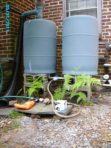 My Free Rain Barrels - Drill Pump, Pumps Water Up 10 Feet