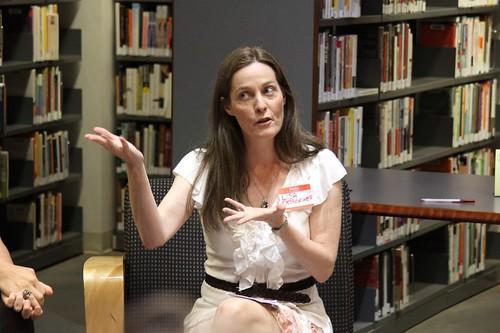IMG_1064 Moderator Lisa DesRochers