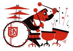 gene krupa 1947 (Al Q) Tags: drums krupa