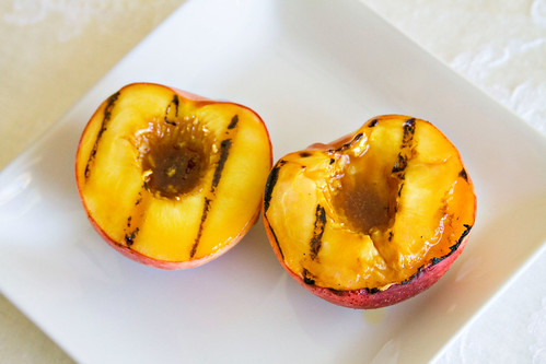 Grilled Peaches - 6