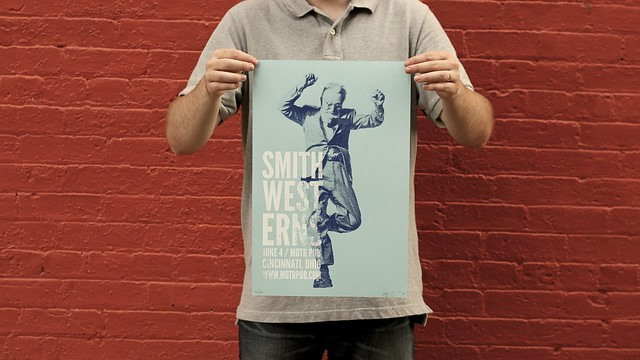 Smith Westerns at MOTR Pub Print