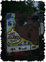 What LEWER'S You? (*Breeding The Disease*) Tags: mobile truck painting graffiti paint character tag bubbles spray illegal characters spraypaint uhaul graff bomb tagging bombing lr lure btd hba piecing b2d lewer lewar lewor lewr