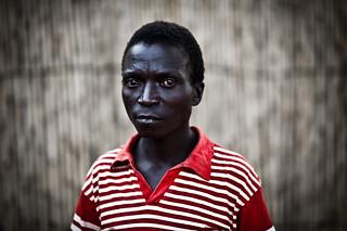 Displaced Lendu man  - DR CONGO -