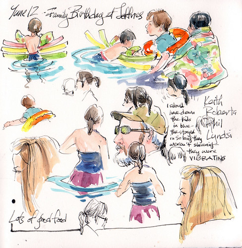 Pool Party Birthday! by Cathy (Kate) Johnson