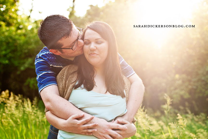Parkville engagement photos