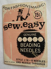 sew easy (found and sewn) Tags: vintage buttons needles