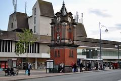 Bexleyheath clock tower (John A King) Tags: clocktower marketplace williammorris bexleyheath kinggeorgev