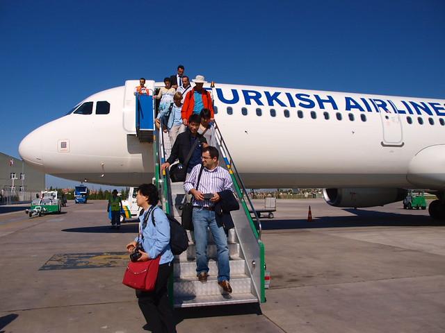 土耳其航空客機與藍天