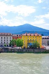Innsbruck 2 la rivière Inn (paspog) Tags: river austria inn rivière fluss innsbruck autriche estremità