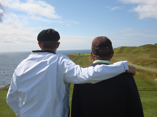 Father and Son at Old Head