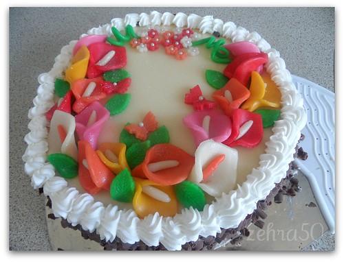 taart met marsepein by zehra50mutfakta