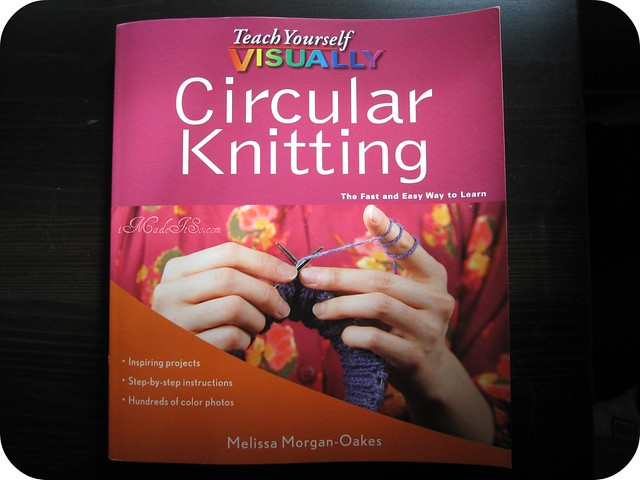 teach yourself visually circular knitting melissa morgan oakes book