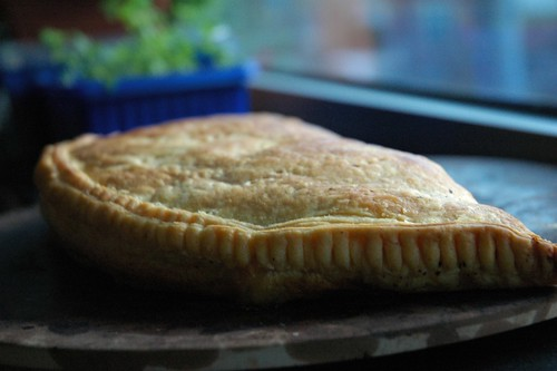 Empanadas with ready-prepared pastry dough