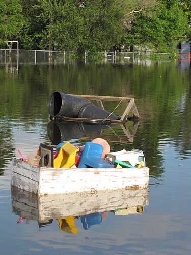Minot Flood 2011 - lost toybox.