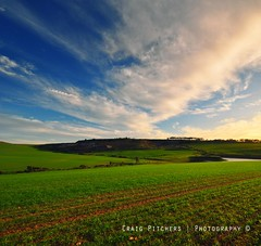 Green Green Green... (Craig Pitchers) Tags: africa sky green clouds southafrica farm capetown fields quarry durbanville westerncape d90 nikond90 1024mm nikon1024mmnikon famrlands