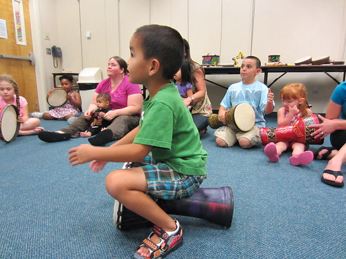 Playtivity performed at Little Egg Harbor Library on Monday, June 27th.