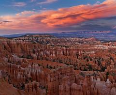bryce (razalas_solrac) Tags: park sunset clouds utah canyon national hoodoo bryce hoodoos