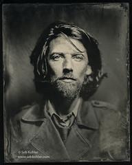 D (Seb Kohler) Tags: portrait bw nb 8x10 wetplate altprocess brasslens collodionhumide sebk sebkohler sebastienkohler collodionisme