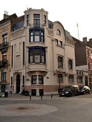 Architectenwoning Paul Hamesse, Sint-Gillis (Erf-goed.be) Tags: geotagged brussel sintgillis archeonet architectenwoning paulhamesse geo:lon=43461 geo:lat=508233