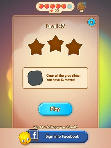 Jelly Splash Level Setup: screenshots, UI