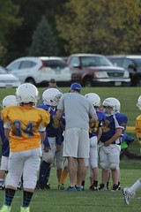 1431 (bubbaonthenet) Tags: 09292016 game stma community 4th grade youth football team 2 5 education tackle 4 blue vs 3 gold