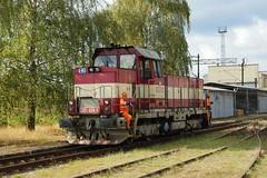 731-024 at Ceska Trebova depot (Karel1999 Over a Million views ,many thanks) Tags: vlak zug locomotives trains diesels ceska trebova