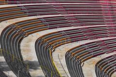 stands curve (loop_oh) Tags: bergiselsprungschanzestadion fis fisskijumpingworldcup fourhillstournament sprungschanze worldcup zahahadid alps austria bergiselschanze hill inn innsbruck oesterreich schanze skijumping skijumpinghill stadion tirol sterreich stand stands audience observer viewer spectator bystander onlooker viewership terraces section seats rail rails stair stairs