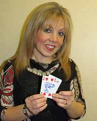 Actress Julie Buckfield supporting Great Ormond Street Hospital for children
