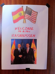 Welcome Mr. and Mrs. Rasmussen