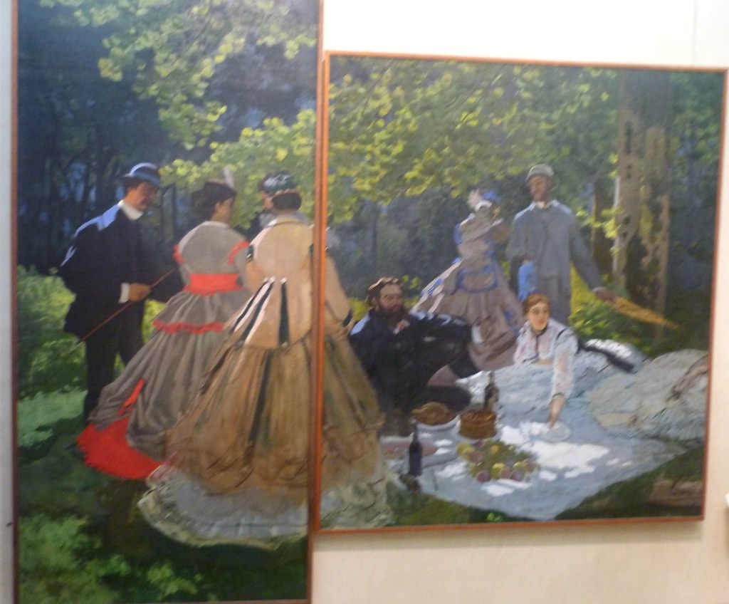 Le déjeuner sur l'herbe by Monet