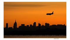 New York Skyline at Sunset (Eddie_NewYorkNature) Tags: newyorkcity sunset newyork sunrise dawn cityscape dusk newyorkskyline cityskyline newyorksunset newyorknature skylineofnewyork