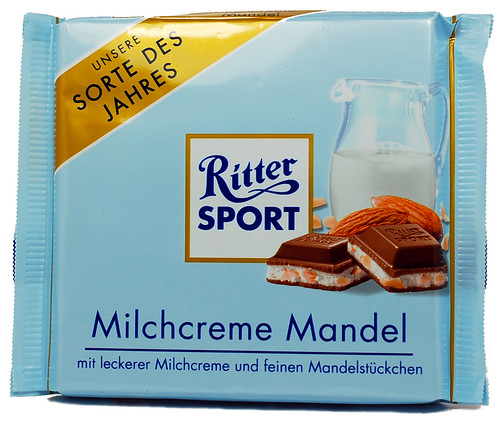 Ritter Sport Milk Cream Almond