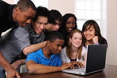 Group at laptop (Davanti Digital) Tags: woman white black male men students smile horizontal female computer happy japanese education women friend university technology friendship diverse classroom laptop internet chinese teenagers diversity lifestyle highschool indoors study korean knowledge africanamerican casual network hispanic brunette success studying collegestudents learn academic ethnicity caucasian youngadults studygroup twenties 2530 asianethnicity adultstudent multiethnicgroup
