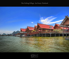 The Fishing Village - Ko Panyi, Thailand (HDR) (farbspiel) Tags: ocean travel sea vacation holiday tourism water photoshop logo geotagged thailand temple photography amazing nikon asia southeastasia wideangle journey handheld nikkor dri hdr tha watermark hdri fishingvillage phangnga kopanyi postprocessing 18200mm d90 photomatix wasserzeichen watermarking topazadjust topazdenoise klausherrmann topazsoftware nikonafsdxnikkor18200mm13556gedvr topazinfocus geo:lat=833422840 geo:lon=9850463740