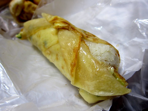 fan tuan with egg crepe