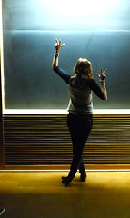Vandy University (rachel_bush) Tags: lighting silhouette classroom chalkboard lecturehall