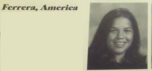 America Ferrera High School Yearbook Photo, 1999