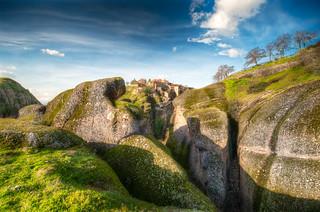 Meteora - Landscape Dreams - (HDR Greece)