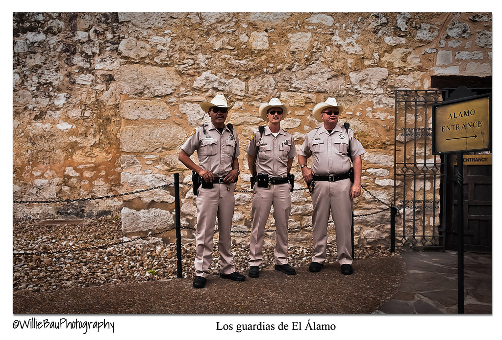 The Guards of the Alamo