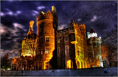 CASA LOMA at Night (BlinXzatan) Tags: toronto castle casa loma casaloma digitalcameraclub flickraward
