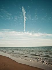 sea and sky... (Paco Espinoza Photography) Tags: blue sea sky serenity cluds flickrfriday franciscoespinoza pacoespinoza pacoespinozacom