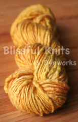'Summer Gold' on Thick & Thin BFL