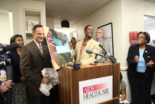 AHF Blair Underwood Healthcare Center Grand Opening