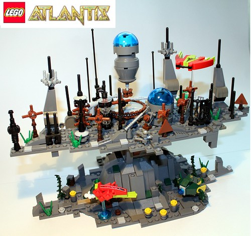 D2C Contest: Altair Underwater Station - LEGO Action and